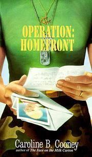 OPERATION: HOMEFRONT (Laurel-Leaf Books)