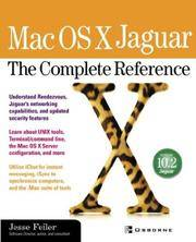 Mac OS X Jaguar: The Complete Reference