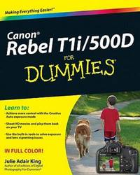 Canon Eos Rebel T1i500d For Dummies