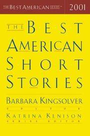 The Best American Short Stories 2001 by  Barbara Kingsolver - Hardcover - from Better World Books  (SKU: 5758340-75)