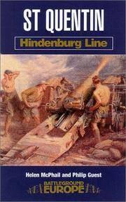 BATTLEGROUND EUROPE: HINDENBURG LINE: ST QUENTIN
