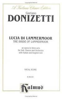 image of Lucia di Lammermoor (Kalmus Edition)