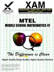 Mtel Middle School Mathematics 47 (PB)