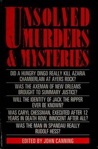 Unsolved Murders and Mysteries