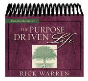 The Purpose Driven Life Daybreak (Daybreaks S.)