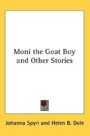 Moni the Goat Boy, and Other Stories