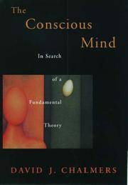 The Conscious Mind In Search of A Fundamental Theory by  David J Chalmers - Paperback - First Edition - 1996 - from Ed Conroy Bookseller and Biblio.com