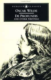 image of De Profundis and Other Writings (Penguin Classics)