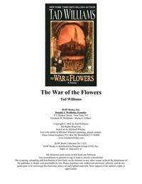 image of The War Of The Flowers
