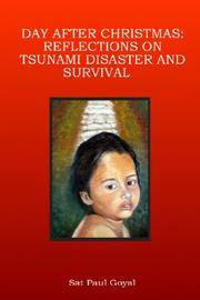 Day After Christmas: Reflections on Tsunami Disaster and Survival