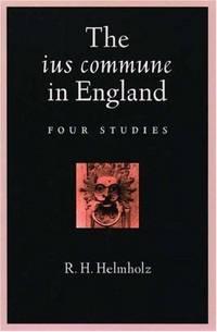 The IUS Commune in England; Four Studies