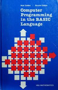 COMPUTER PROGRAMMING IN THE BASIC LANGUAGE, SECOND EDITION