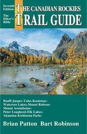 image of The Canadian Rockies Trail Guide