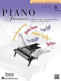 Level 3B - Popular Repertoire Book: Piano Adventures [Paperback] Faber, Nancy and Faber, Randall