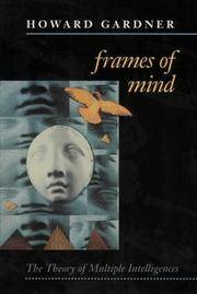 Frames of Mind. The Theory of Multiple Intelligences