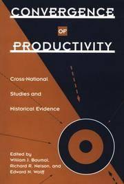 CONVERGENCE OF PRODUCTIVITY