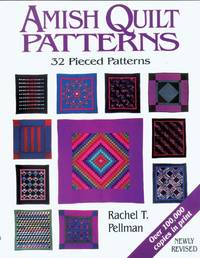 image of Amish Quilt Patterns: 32 Pieced Patterns