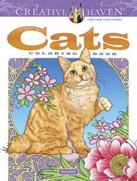 CATS: Creative Haven Coloring Book (O)