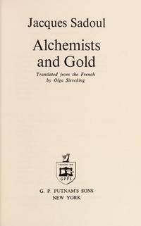 Alchemists and gold