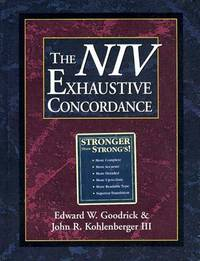 The Niv Exhaustive Concordance (Regency Reference Library Book)