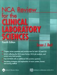 NCA Review for the Clinical Laboratory Sciences (Book with CD-ROM)