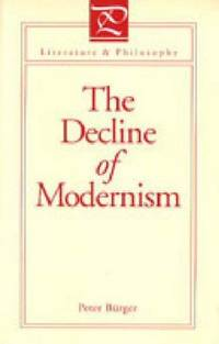 image of The Decline of Modernism
