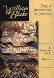 image of Songs of Innocence and of Experience (The Illuminated Books of William Blake, Volume 2)