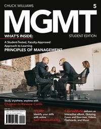 MGMT 5 (Principles of Management)(Chinese Edition)