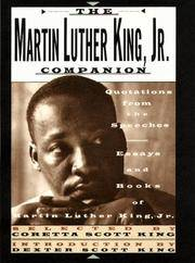 image of The Martin Luther King, Jr. Companion: Quotations from the Speeches, Essays, and Books of Martin Luther King, Jr.
