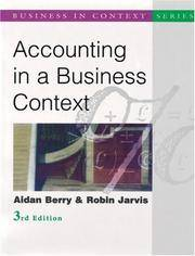 Accounting in a Business Context.