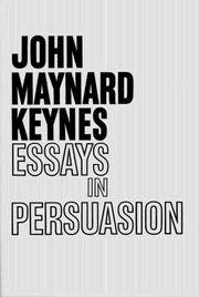 image of Essays in Persuasion