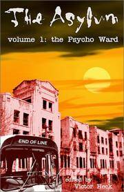 The Asylum, Vol 1: The Psycho Ward