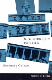 image of New York City Politics: Governing Gotham