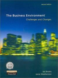 The Business Environment: Challenges and Changes