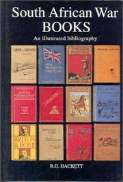 SOUTH AFRICAN WAR BOOKS - An illustrated bibliography of English language publications relating...