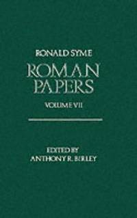 image of Roman Papers: Volume VII