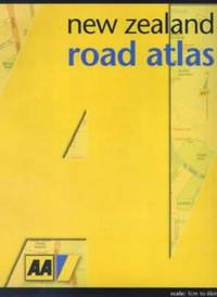 New Zealand Road Atlas by Automobile Association - Paperback - Third edition - 2001 - from Burlingame Library Foundation Booksales and Biblio.com