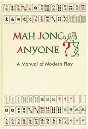 Mah Jong, Anyone?