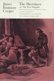 image of The Deerslayer (Writings of James Fenimore Cooper)