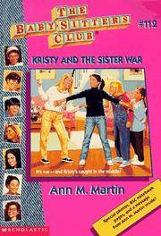 image of Kristy And The Sister War (Baby-Sitters Club)