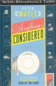 image of Anything Considered: A Novel
