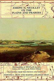 Joseph Nicollet on the Plains and Prairies