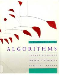 image of Introduction to Algorithms (MIT Electrical Engineering and Computer Science)
