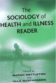 image of The Sociology of Health and Illness: A Reader