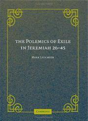 The Polemics of Exile in Jeremiah, 26-45