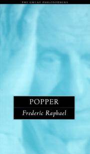 Popper: The Great Philosophers (The Great Philosophers Series)