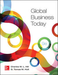Global Business Today by Hill/Hult - 2016
