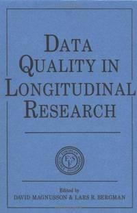 DATA QUALITY IN LONGITUDINAL RESEARCH