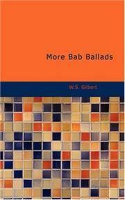 More Bab Ballads