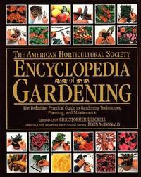 American Horticultural Society Encyclopedia of Gardening (American Horticultural Society Practical Guides) by  Christopher Brickell - Hardcover - 1993-09-15 - from Blind Pig Books (SKU: 20-06-06-GOOD-58979-JM)